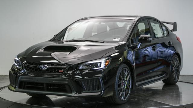 New 2018 Subaru Wrx Sti Limited Manual W Wing Spoiler 4dr Car In
