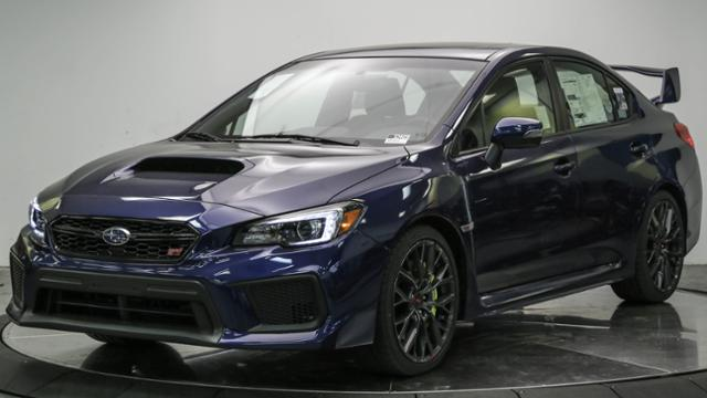 New 2018 Subaru WRX STI Limited Manual w/Wing Spoiler 4dr Car in Huntington Beach #S3469 ...