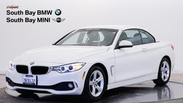 Certified Pre-Owned 2015 BMW 4 Series 2dr Conv 428i RWD SULEV