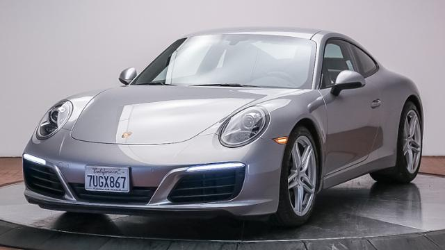 certified pre-owned 2017 porsche 911 carrera coupe 2dr car in