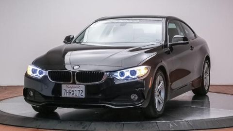 Certified Pre-Owned 2015 BMW 4 Series 2dr Cpe 428i RWD SULEV