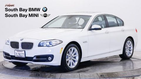 Certified Pre-Owned 2015 BMW 5 Series 4dr Sdn 535i RWD