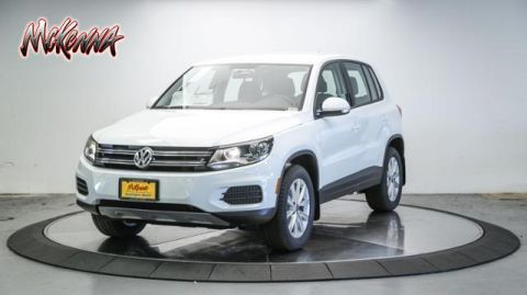 New 2017 Volkswagen Tiguan Limited 2.0T 4MOTION